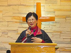 王錦香牧師